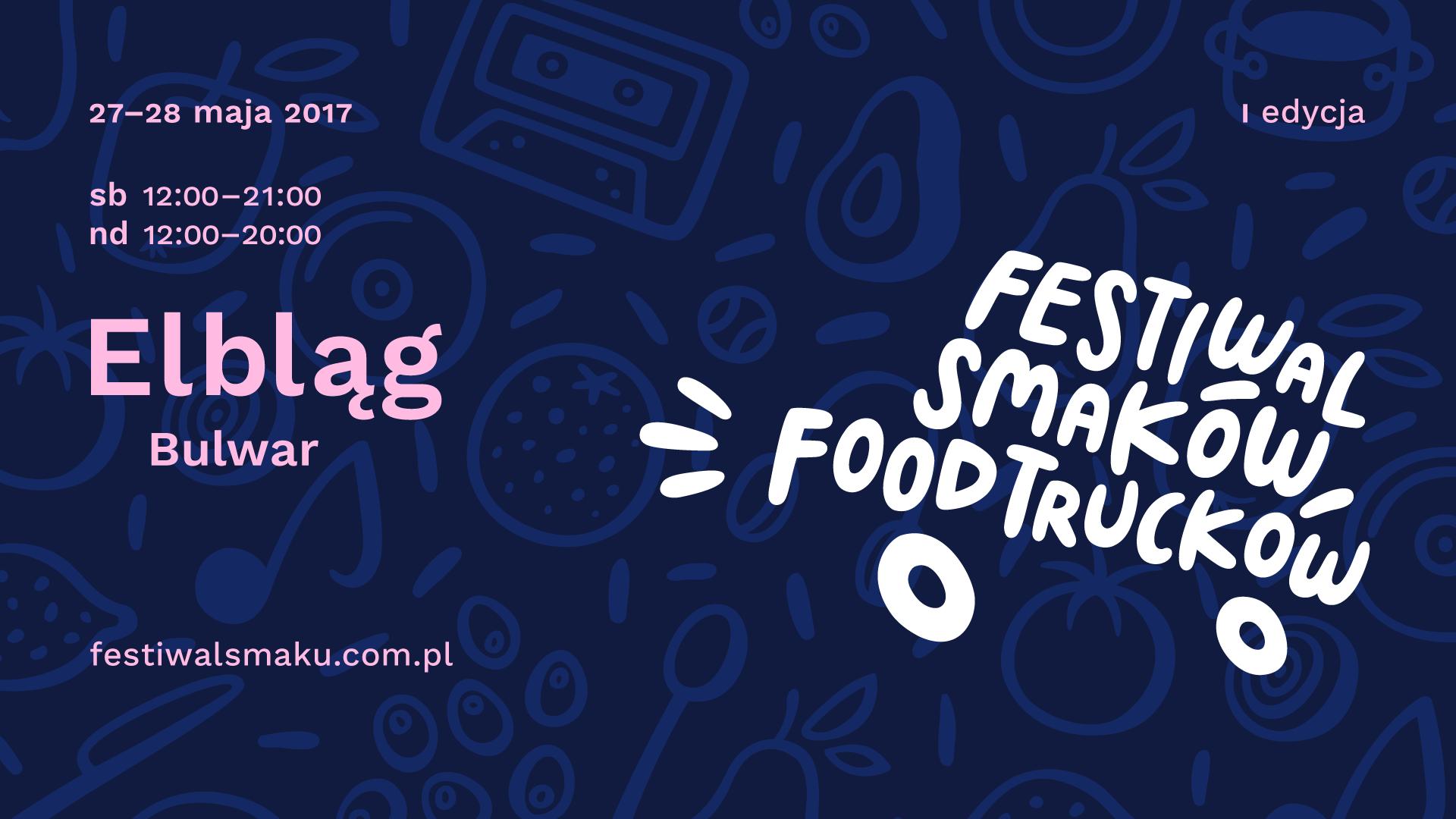 Po raz pierwszy w Elblągu odbędzie się Festiwal Smaków Food Trucków