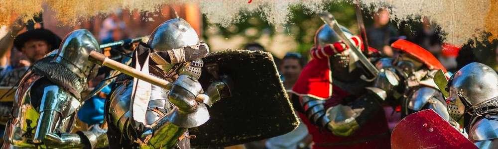Parada, bieg dam i inscenizacja bitwy. Przed nami IV Turniej Rycerski o włócznię św. Jerzego