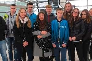 Młodzież gimnazjalna na zagranicznej wymianie w Niemczech
