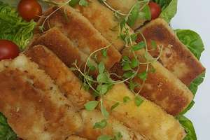 Krokiety z pieczarkami, kurczakiem i serem