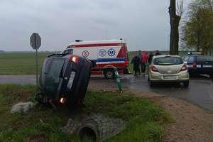 Wypadek na trasie Działdowo-Iłowo. Jedna osoba w szpitalu