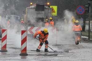Kolejne utrudnienia na ul. Cementowej w Olsztynie. Drogowcy wprowadzą ruch wahadłowy