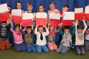 Lekcja patriotyzmu u przedszkolaków