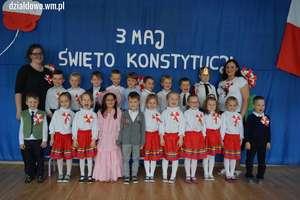 Akademia w Przedszkolu Miejskim nr 1 w Działdowie z okazji uchwalenia Konstytucji 3 Maja [filmy, zdjęcia]
