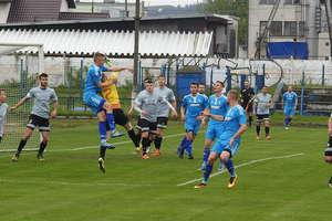 Niedzielny mecz na nowomiejskim stadionie wygrał zespół Finishparkiet-Drwęca