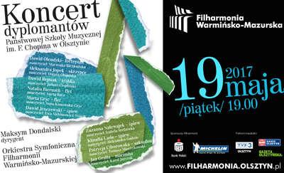 Koncert dyplomantów