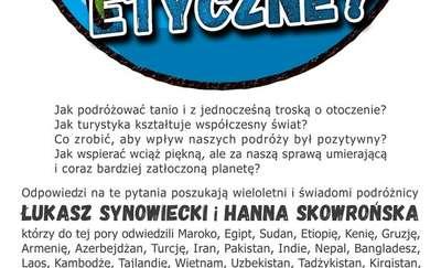 Spotkanie z podróżnikami Hanną Skowrońską oraz Łukaszem Synowieckim