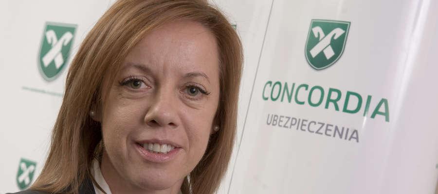 Marta Wieczorek-Kożuch, dyrektor Oddziału Olsztyn Concordia Ubezpieczenia
