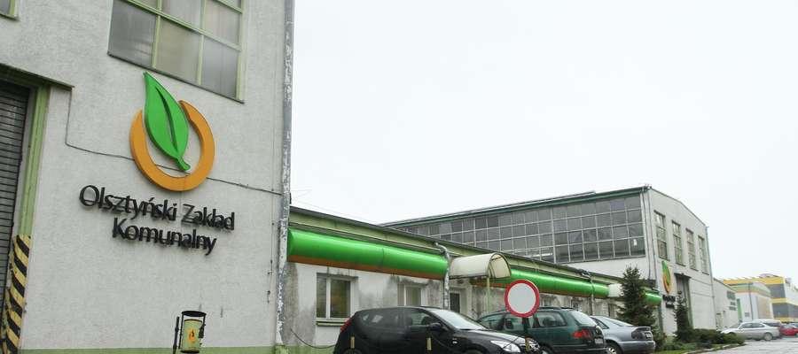 Zakład Usług Komunalnych  Olsztyn -  Z dniem 1 stycznia 2018 roku część budynków należąca do ZUK w Olsztynie zostanie przejęta przez MPK. MPK będzię miało tam swoje budynki warsztatowe.
