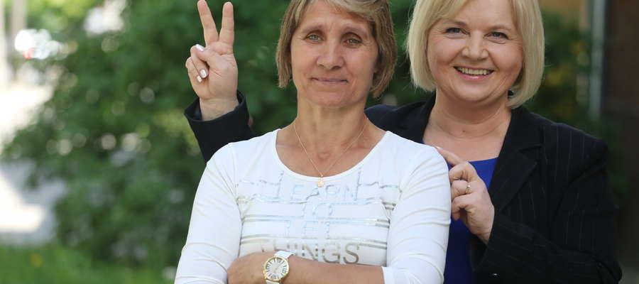 Lidia Staroń i Barbara Kosewska