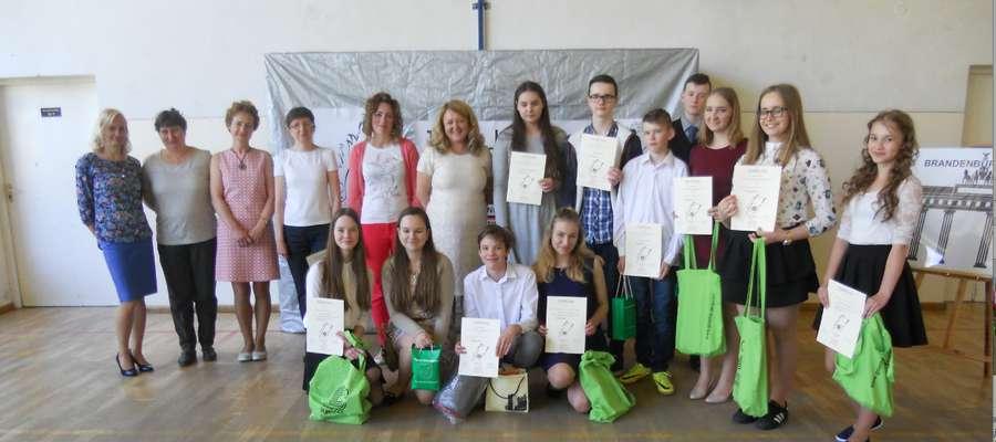 Poezja po niemiecku. Konkurs recytatorski w Lipowinie