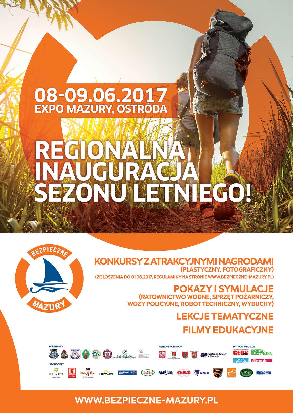 Regionalna inauguracja sezonu letniego – Bezpieczne Mazury - full image