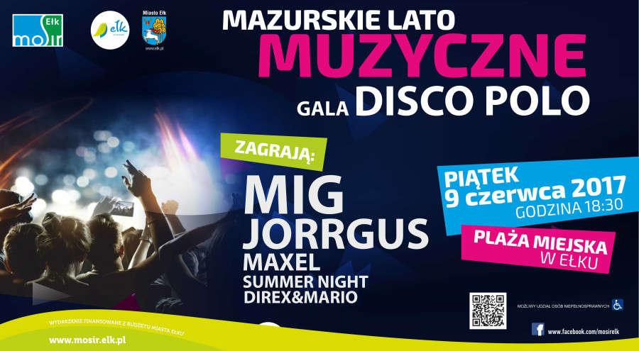 Gala Disco Polo już w piątek na plaży miejskiej - full image