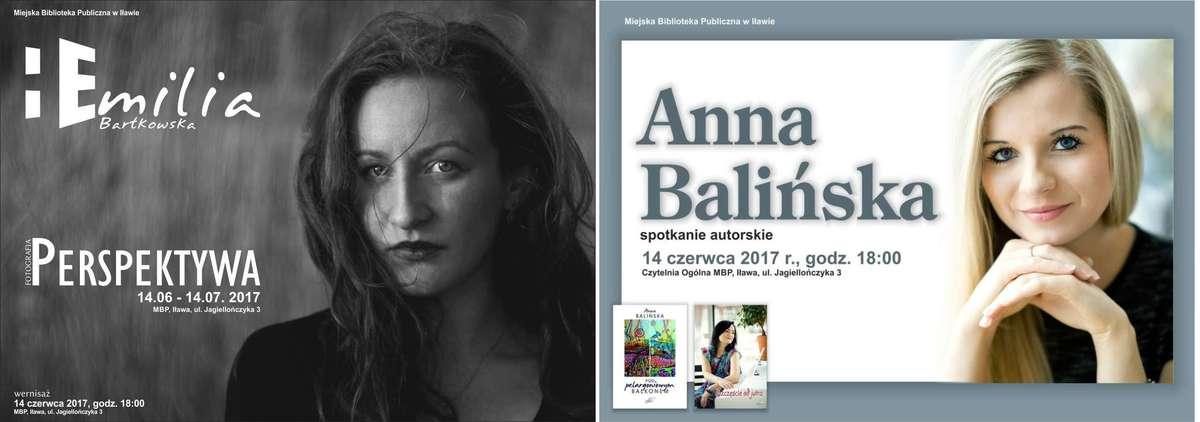 Spotkanie  z dwiema kobietami z pasją - fotografką Emilią Bartkowską i pisarką Anną Balińską   - full image