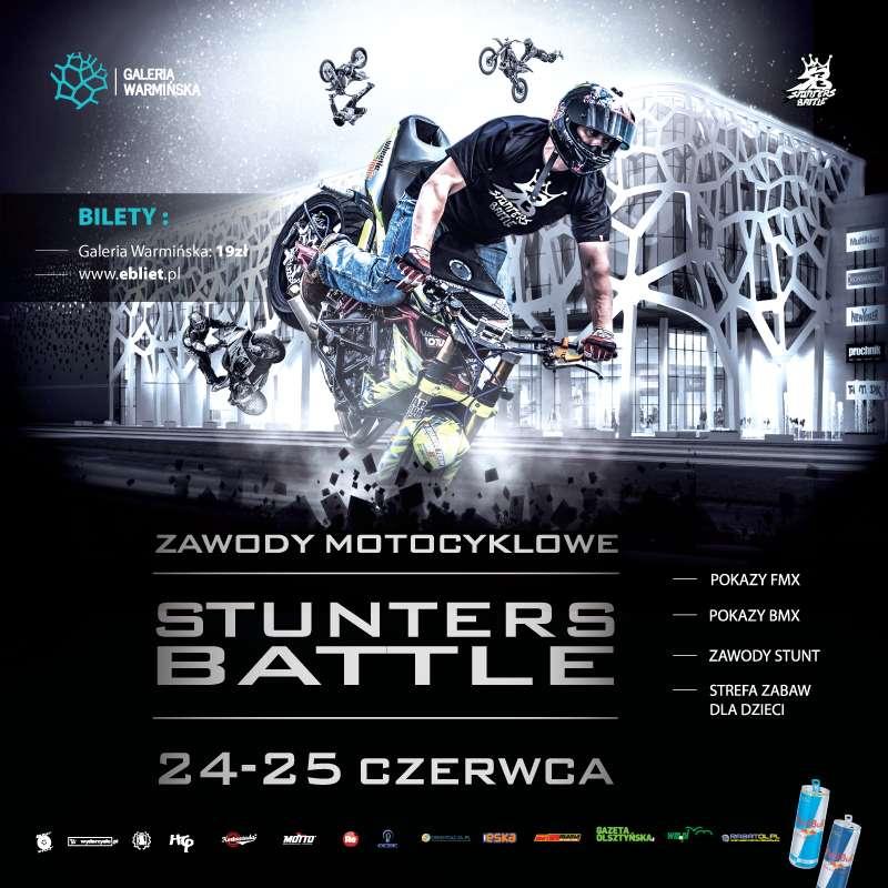"""Zawody motocyklowe """"Stunters Battle"""" w Galerii Warmińskiej! - full image"""