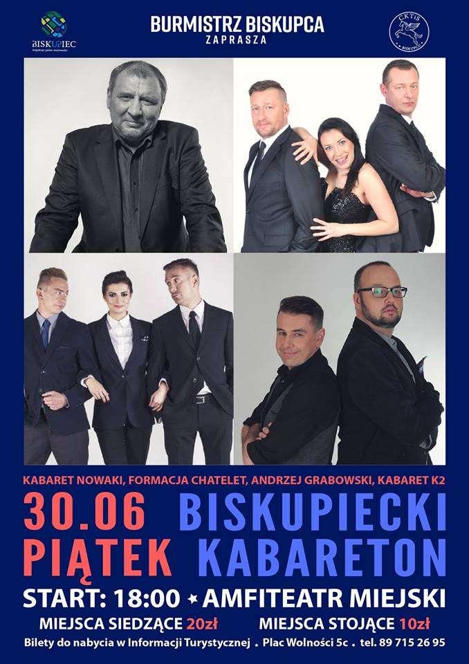 Nowaki, Formacja Chatelet, Andrzej Grabowski i Kabaret K2 w Biskupcu - full image