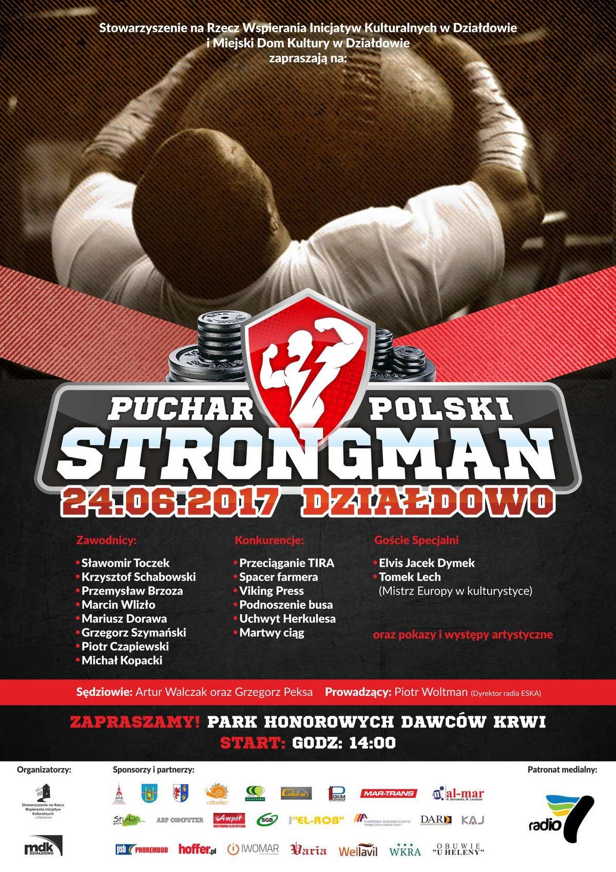 Puchar Polski Strongmanów w Działdowie - full image