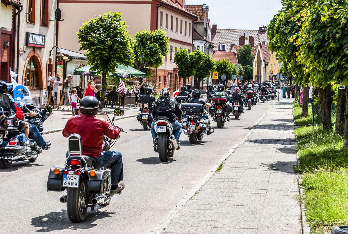 Międzynarodowy Zlot Motocyklowy w Tolkmicku - full image