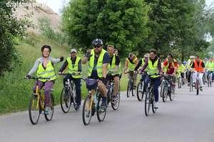 190 cyklistów wzięło udział w XVI Rodzinnym Rajdzie Rowerowym w Działdowie [film. zdjęcia]