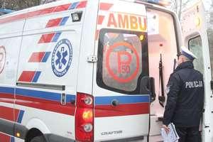 15-latka potrącona na przejściu dla pieszych w Olsztynie