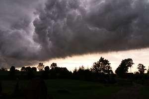 Silny wiatr, grad i burze z deszczem. IMGW ostrzega!