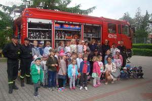 Wizyta strażaków w Przedszkolu Miejskim nr 3 w Działdowie