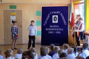 Święto Marii Konopnickiej - patronki szkoły w Sątopach
