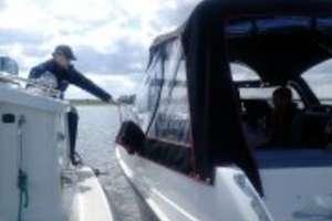 Pijany wczasowicz pływał łodzią motorową