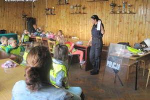 Przedszkolaki z wizyta w Komendzie Policji