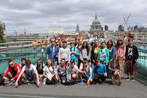 Zwiedzili Londyn i doskonalili język angielski