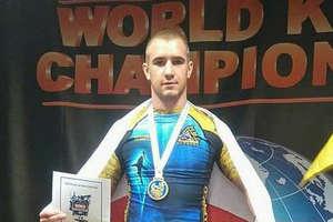 Dominik Jusis wicemistrzem świata amatorów mieszanych sztuk walki