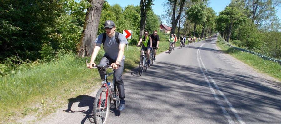 Wycieczka rowerowa z MOSiR