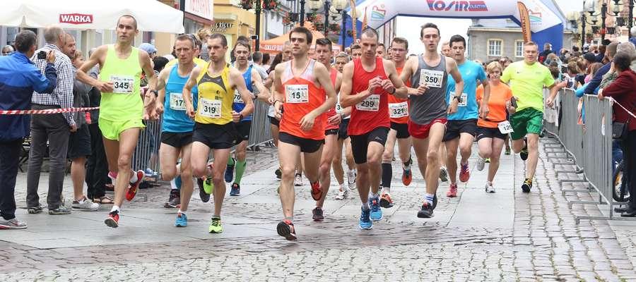 Jednym z wydarzeń organizowanych przez Dział Sportu był Bieg Jakubowy