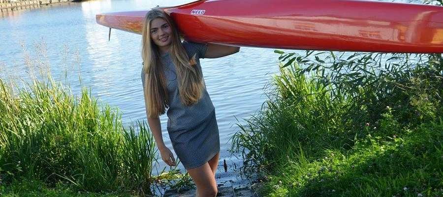 Marta Witkowska, kajakarka Olimpii Elbląg