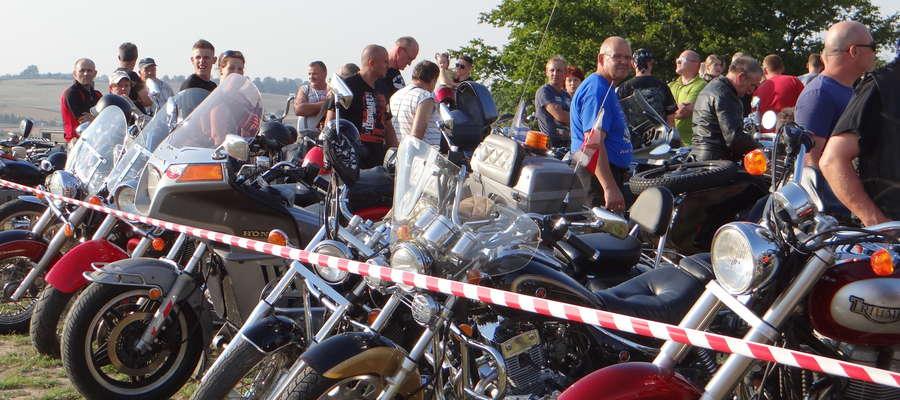 Zlot motocyklowy w Kurzętniku