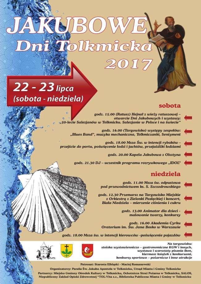 Tolkmicko zaprasza na Dni Jakubowe - full image
