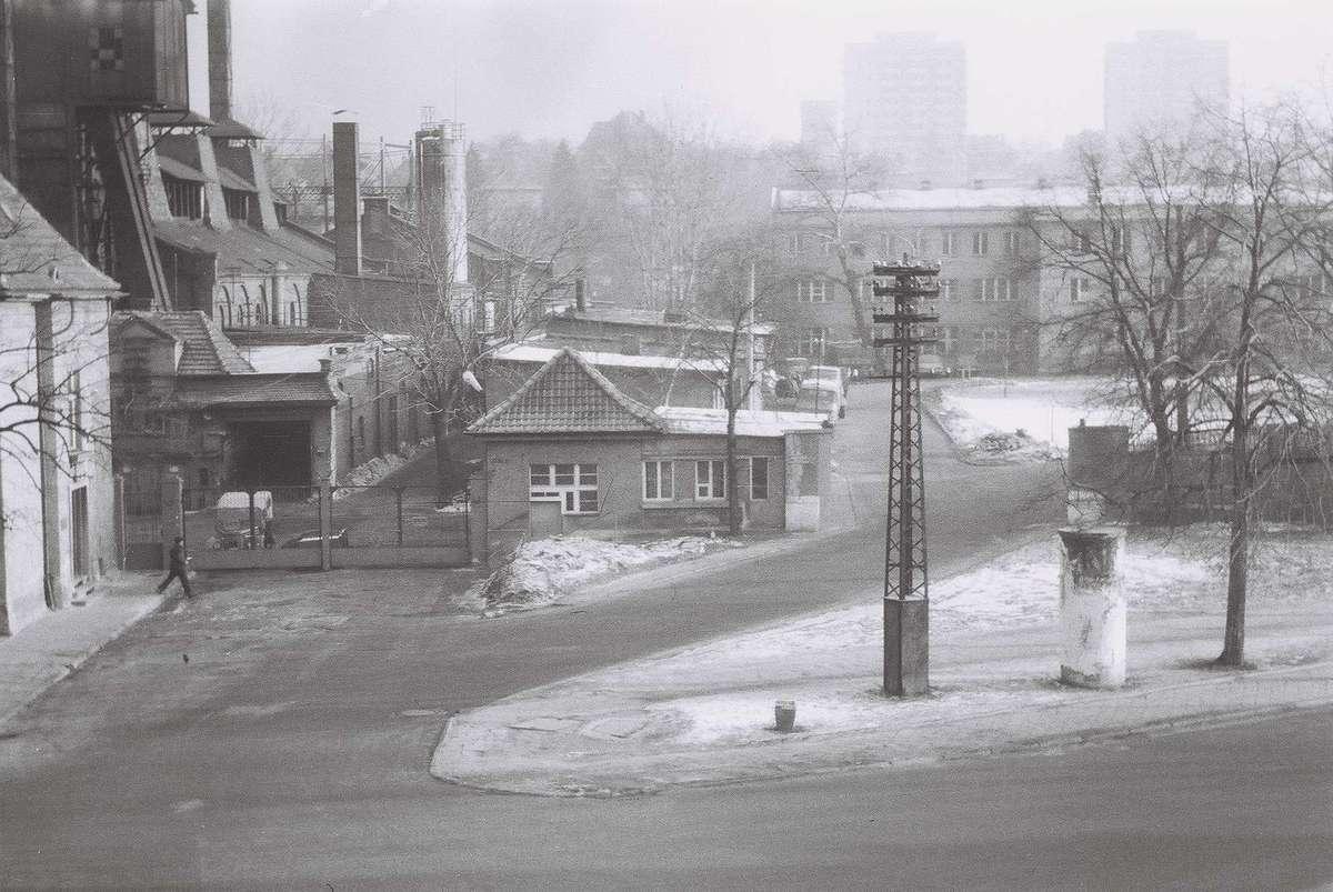 Tak wyglądał kiedyś budynek miejskiej gazowni.