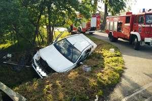 Wypadek w Pieniężnie. Ranne dziecko trafiło do szpitala