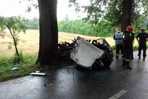 Kolejny wypadek pod Barcianami. Ranna kobieta podróżująca z 3-letnią córką