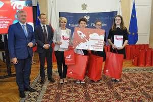 Gimnazjaliści z Sępopola zwycięzcami w konkursie Ministerstwa Finansów