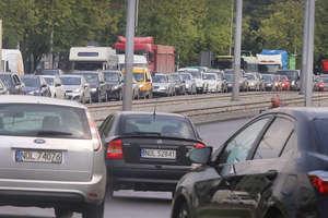 Ulice wokół dworca w Olsztynie zamknięte. Jak poradzili sobie kierowcy? [ZDJĘCIA]