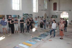 Bisztynek uwieczniony na obrazach studentów sztuki