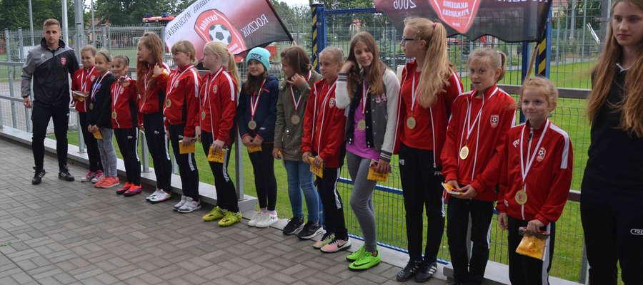 Pierwszy sezon treningów ma też za sobą drużna dziewcząt AP Ostróda