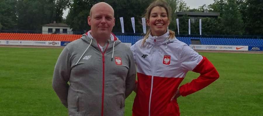 Piotr Borysewicz i Patrycja Adamczyk