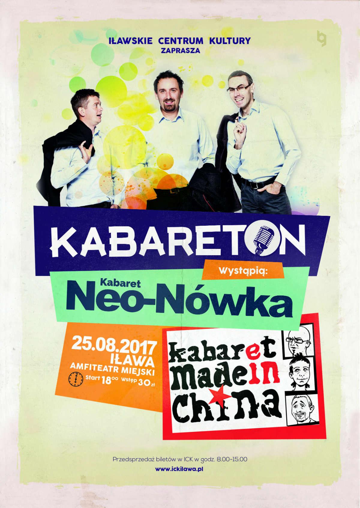 Kabareton w Iławie. Made In China i Neo – Nówka! - full image