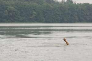 17-latek utonął w jeziorze. Wypoczywał z kolegami w domu letniskowym