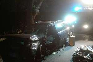 Śmiertelny wypadek pod Olsztynem. Zginął kierowca forda