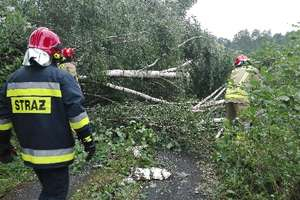 Nawałnica przetoczyła się nad Polską. Kolejne ostrzeżenie na sobotę