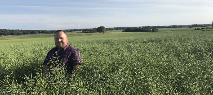 Armand Bruno Szara, rolnik i właściciel rolniczego sklepu internetowego BIG-AGRO.pl, www.big-agro.pl