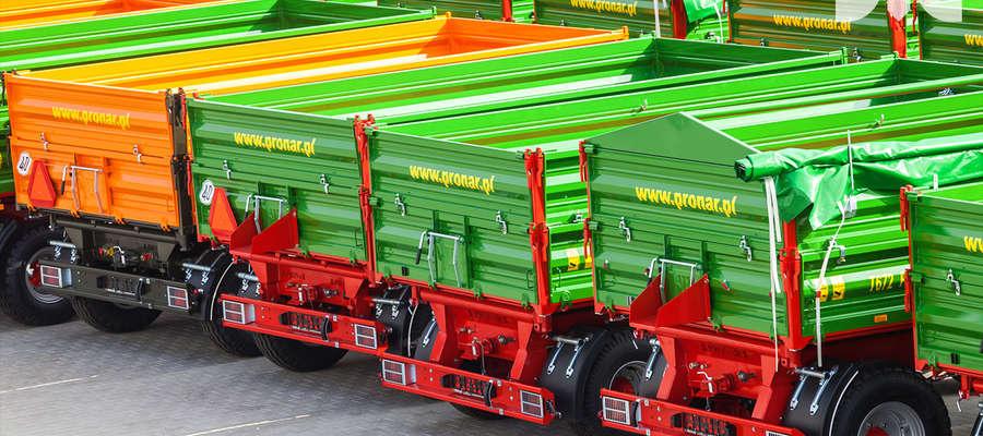 Co druga przyczepa rolnicza rejestrowana w Polsce pochodzi z zakładów produkcyjnych Pronar